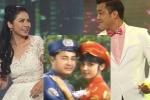Sau hơn 20 năm, Lý Hùng - Việt Trinh mới có dịp diện đồ cưới bên nhau