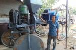 Cận cảnh chiếc máy nông nghiệp đa năng của 'kỹ sư chân đất'