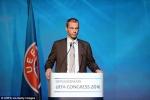 Chủ tịch UEFA mới là ai?