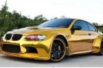 Ngắm chiếc BMW M3 mạ vàng bóng loáng