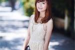 Vẻ đẹp mơ màng của hoa khôi sinh viên Hà Phương