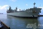 Tàu hải quân HMAS Sirius của Úc cập cảng Đà Nẵng