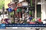 TP.HCM: Sẽ có chính sách miễn giảm khi thu phí vỉa hè