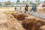 Sập hố công trình ở Bình Dương, 2 công nhân tử nạn