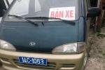 Xe biển xanh lại được rao bán trên quốc lộ ở Quảng Ninh