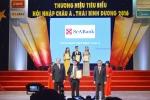 SeABank được vinh danh trong 'Top 100 thương hiệu tiêu biểu hội nhập Châu Á - Thái Bình Dương 2016'
