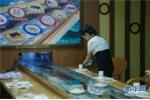 Ngỡ ngàng nhà hàng sushi hiện đại ở Triều Tiên