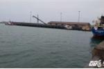 Kiểm tra tàu chở 60 tấn bùn bô xít Formosa nhập từ Trung Quốc