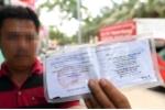 Được dùng bản sao giấy đăng ký xe khi lái xe