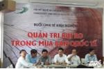 Nhiều công ty đến họp báo 'kêu khổ', chồng Thu Minh hứa sớm trả nợ