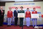 Chi tiết hơn 5,4 tỷ tiền thưởng của xạ thủ Hoàng Xuân Vinh