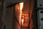 Nghi bị chủ nhà lấy trộm điện thoại, thiếu nữ phóng hỏa đốt nhà