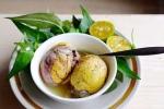 Những điều cần nhớ khi ăn trứng vịt lộn