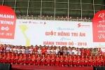 'Hành trình đỏ' 2016: Tiếp nhận được gần 24.000 đơn vị máu