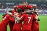 Kết quả bóng đá Anh: Liverpool thắng nghẹt thở, vươn lên thứ nhì Ngoại hạng Anh