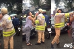 Bị nhắc nhở vì chạy lấn làn, nữ tài xế hung hãn chửi bới, đe doạ CSGT giữa Sài Gòn