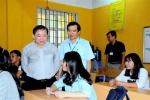 Thứ trưởng Bùi Văn Ga kiểm tra công tác thi THPT Quốc gia tại Phú Thọ