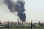 Rơi máy bay sát siêu thị ở Bồ Đào Nha, 4 người thiệt mạng