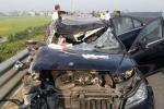 Hai ô tô tông nhau trên cao tốc Hà Nội - Hải Phòng: Xác định danh tính nạn nhân
