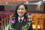 Nữ sinh xinh đẹp giành giải Nhất nghiên cứu khoa học Học viện An ninh