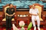 Cục trưởng Quan hệ quốc tế Quân đội Hoàng gia Campuchia thăm Việt Nam