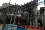 Nhiều công nhân đang bị vùi lấp trong vụ sập sàn bê tông ở Vũng Tàu