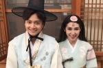 Ngô Kiến Huy – Khổng Tú Quỳnh siêu đáng yêu khi quay MV tại Hàn Quốc