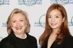 Triệu Vy, Lý Liên Kiệt vướng nghi vấn góp quỹ cho bà Hillary Clinton