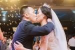 Á hậu Vân Quỳnh hôn chồng say đắm trong lễ cưới
