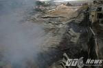 Ảnh: Hiện trường tan hoang, đổ nát sau vụ cháy lớn ở Hải Phòng