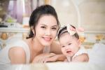 Sau nhiều năm 'ở ẩn', Hoa hậu Đậu Thị Hồng Phúc tái xuất cùng con gái
