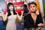Sĩ Thanh đọ vẻ xinh đẹp bên Hoa hậu Jolie Nguyễn