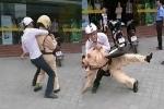 Vi phạm giao thông, đánh 2 cảnh sát bị thương