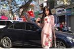 Bị chỉ trích vô ý thức khi đỗ xe giữa cổng chung cư, Hoa hậu Kỳ Duyên lên tiếng