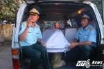 Thi thể phi công Trần Quang Khải về đến đất liền
