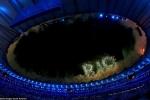Tuyệt đẹp hình ảnh lễ khai mạc Olympic Rio 2016