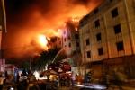 Cháy lớn trong khu công nghiệp Trà Nóc: Lửa bất ngờ bùng phát dữ dội