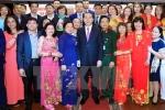 Chủ tịch nước Trần Đại Quang gặp mặt cộng đồng Việt Nam ở Nga
