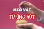 Hàng loạt mẹo vặt hữu ích không ngờ từ ống hút