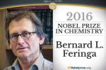 Nobel Hóa học cho các thiết kế máy nhỏ cỡ phân tử