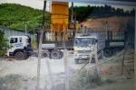 Sợ chở chất thải Formosa, 5 xe tải quay đầu về Hà Tĩnh