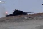 Cú thoát thân ngoạn mục của xe tăng T-62M khị tên lửa TOW tấn công