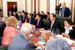 Chủ tịch nước Trần Đại Quang hội kiến Chủ tịch Hội đồng Liên bang Nga