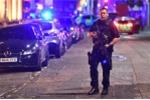 Hiện trường vụ tấn công liên hoàn khủng khiếp ở London