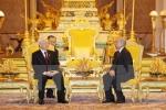 Báo Campuchia ca ngợi chuyến thăm của Tổng Bí thư Nguyễn Phú Trọng