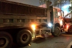 Thiếu nữ bị xe tải cán chết giữa đêm ở Hà Nội