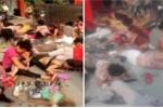 Video: Hiện trường nổ khủng khiếp ở trường mầm non Trung Quốc, hàng loạt người chết