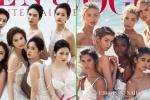 Ngọc Trinh và dàn mẫu bắt chước thiên thần Victoria's Secret