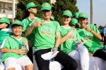 Gia đình Trần Lực, Vân Dung đi bộ đồng hành cùng 10 ngàn người