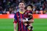 Messi không thể truyền cảm hứng cho con trai